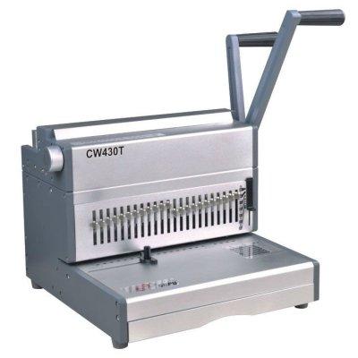 a3 tamaño doble máquina obligatoria de alambre cw430t