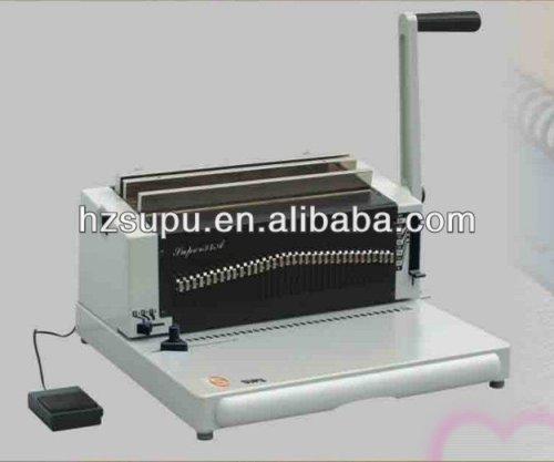 الثقيلة واجب مزدوج آلة تجليد أسلاك حلقة