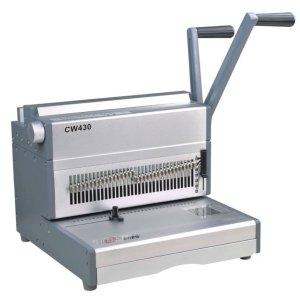 heavy duty punch e fio máquina vinculativo para 180sheetscw430
