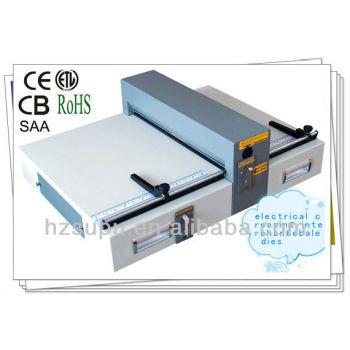 Electric book creaser machine E460
