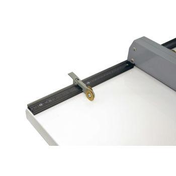 papel vincando máquina