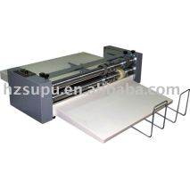Roll creasing machine