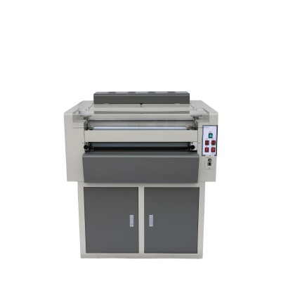 24 inch manual changing multi-roller UV coating machine