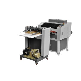 18 inch automatic multi roller UV coating machine with AUTO feeder