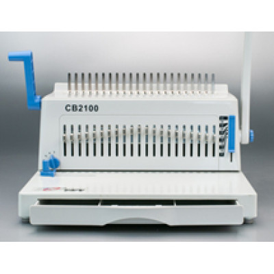 Plastic comb binding machine for office use CB2100 PLUS