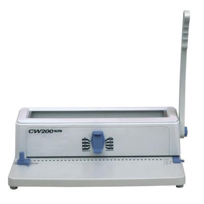 Manual punch& wire binding machine 3:1 pitch(CW200)