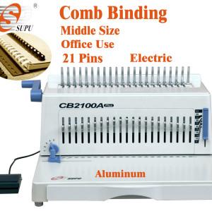 Electric plastic ring binding machine(CB2100A )