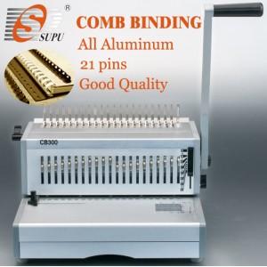 manual metal A4 plastic Comb binding Machine (CB300)