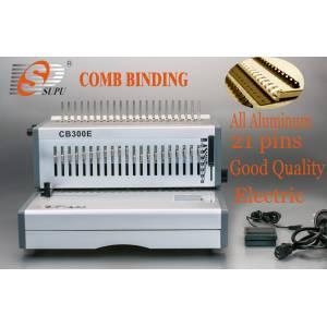 A4 size paper punching comb binding machine electric (CB300E)