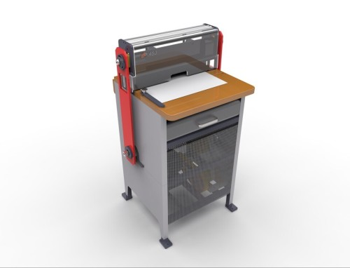 New Professional Paper Punching Machine with Interchangeable Die (SUPER450)