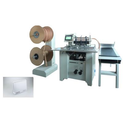 automatiuc heavy duty double wire book binding machine