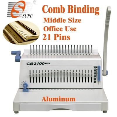 Manual office A4 Size comb binding machine CB2100PLUS