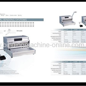 Electric Spiral Coil Binding Machine Legal Size (PC360E)