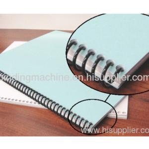 Electric A4 sze paper Plastic Spiral Ring Coil Binding Machine SUPER47E PLUS