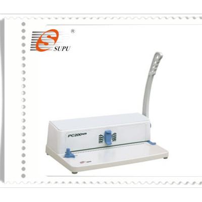 4:1 pitch manual spiral binding machine(PC200 PLUS)