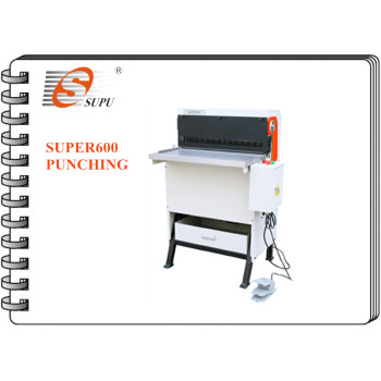 Heavy Duty Electric Punching and Binding Machine With interchangeable dies (SUPER600)