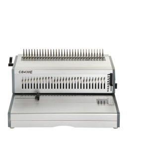 Full size paper electric punching and manual binding machine (CB430E)