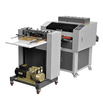 Newest Automatic multi Roller UV coating machine with automatic paper feeder system