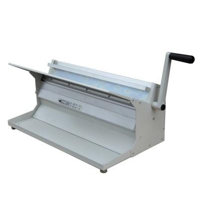 Máquina de escritorio C600 de doble alambre manual de sobremesa de 24
