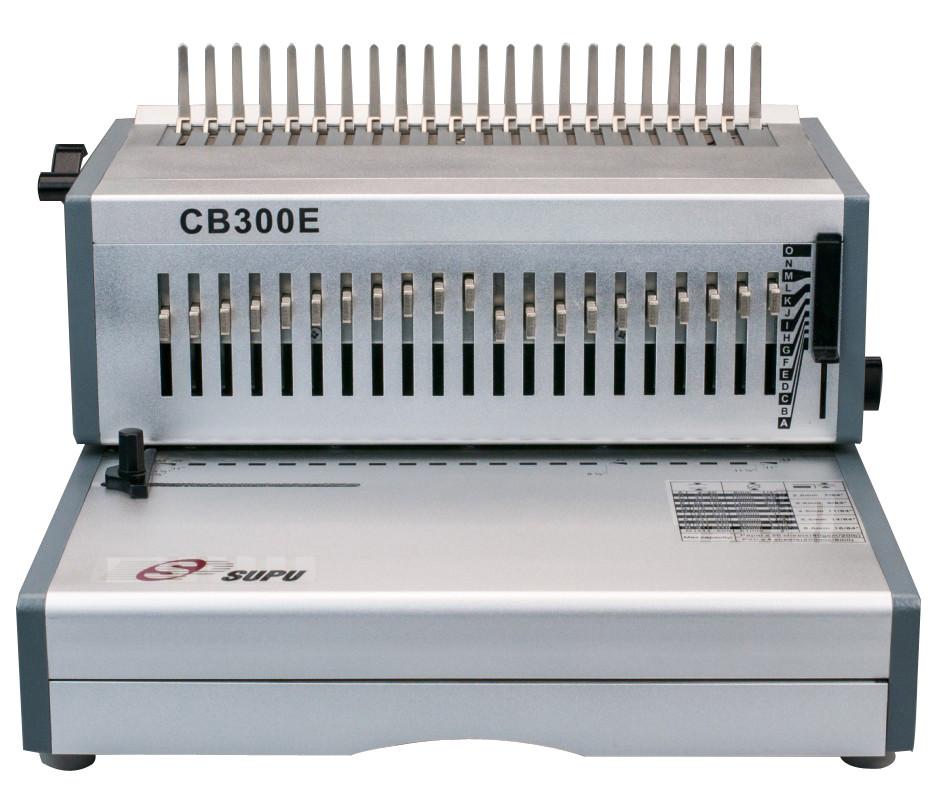 Electric Comb Binding Machine for Book Punching/Binding