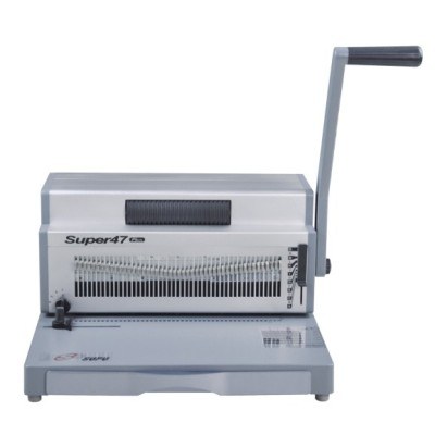 Heavy duty manual punching and electric spiral binding machine (SUPER47 PLUS)