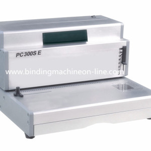 Electric Office Single Spiral Coil Binding Machine PC300SE