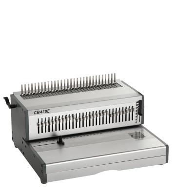 Heavy duty A3 size Electric comb binding machine CB430E