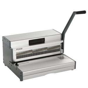 Heavy Duty Manual A3 Size Coil Binding Machine