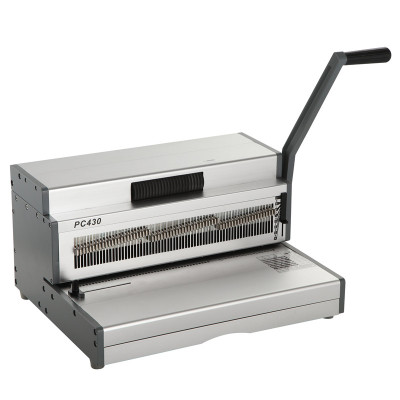Heavy Duty Manual A3 Size Coil Binding Machine PC430