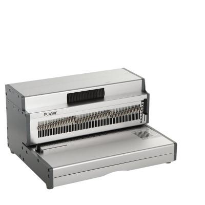 Heavy Duty Electric  A3 Size Coil Binding Machine PC430E