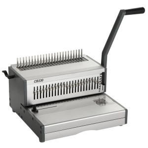 Heavy duty Manual A4 size comb  binding machine CB330