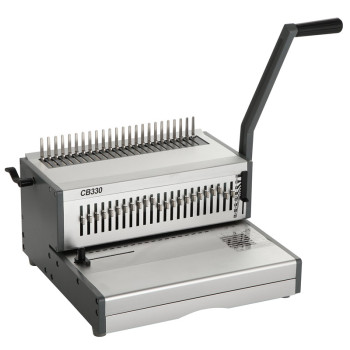 Heavy duty Manual A4 size comb  binding machine CB330