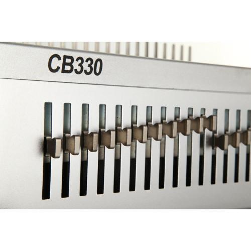 Heavy duty manual tamaño A4 máquina de encuadernación peine CB330