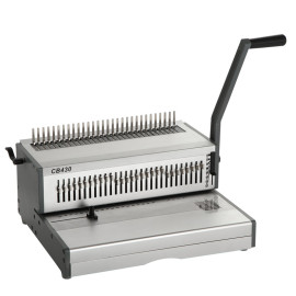 Heavy duty A3 Size Manual comb binding machine CB430