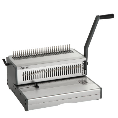 Heavy duty A3 Size Manual comb binding machine CB430