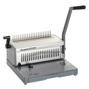 Heavy duty Manual Comb binding Machine SUPER21 PLUS