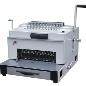 multifunction binding machine with comb wire spiral coil and punching (SUPER4&1)
