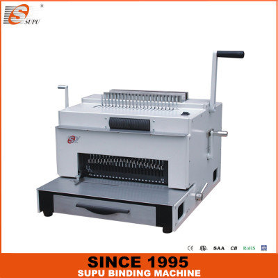 4 in one multifunctional binding machine with patent (SUPER4&1)