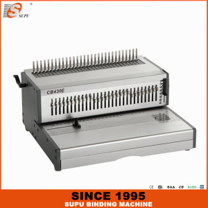 SUPU Heavy Duty A3 Size Electric Comb Binding Machine Model CB430E