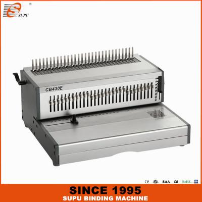 SUPU Heavy Duty A3 Size Electric Comb Binding Machine Model CB430E