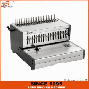 SUPU Heavy Duty A4 Size  Electric Comb Binding Machine Model CB330E