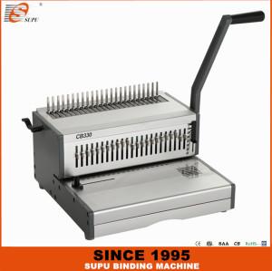 SUPU Heavy duty Manual A4 Size Comb  Binding Machine Model CB330