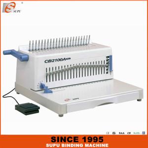 SUPU Electric Office A4 Size Plastic Comb Binding Machine Model CB2100A PLUS