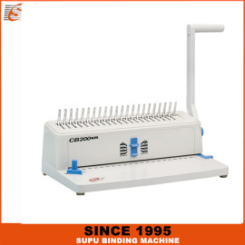 SUPU Office-Use Comb Binding Machine For Office And Factory Model CB200 PLUS