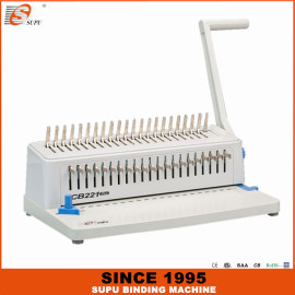 SUPU Plastic Comb Binding Machine Model CB221 Plus