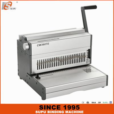 SUPU Electric Wire Binding Machine Maximum Punching Thickness 35 Sheets Width 360MM Model CW360TE