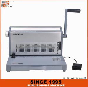 SUPU Double Wire Binding Machine Model SUPER34E PLUS