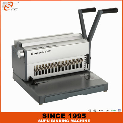 SUPU Office And School Stationery Wire Binding Machine Model SUPER34 PLUS