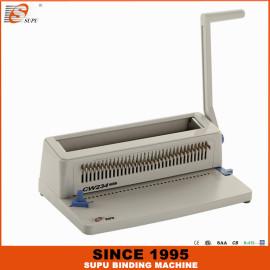 SUPU Office Manual Double Wire Book Binding Machine CW234 PLUS