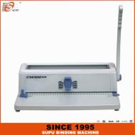 سوبو دليل لكمة والأسلاك آلة تجليد 3: 1 الملعب نموذج CW200 بلوس